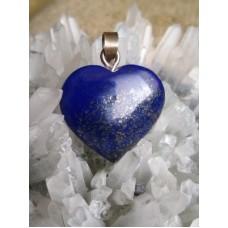 Lapis Lazuli Heart Pendant 12