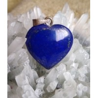 Lapis Lazuli Heart Pendant 14
