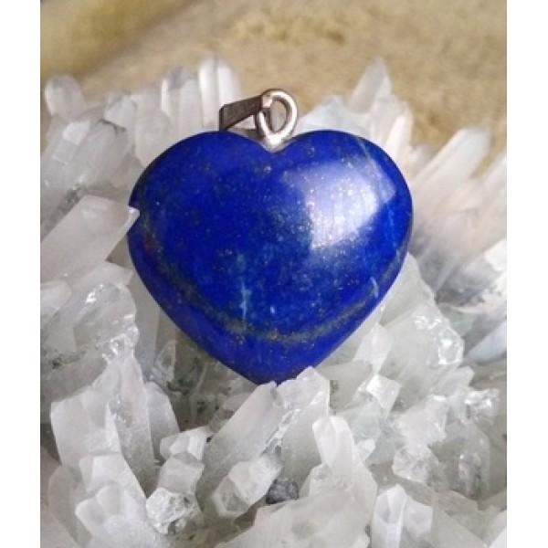 Lapis Lazuli Heart Pendant 16
