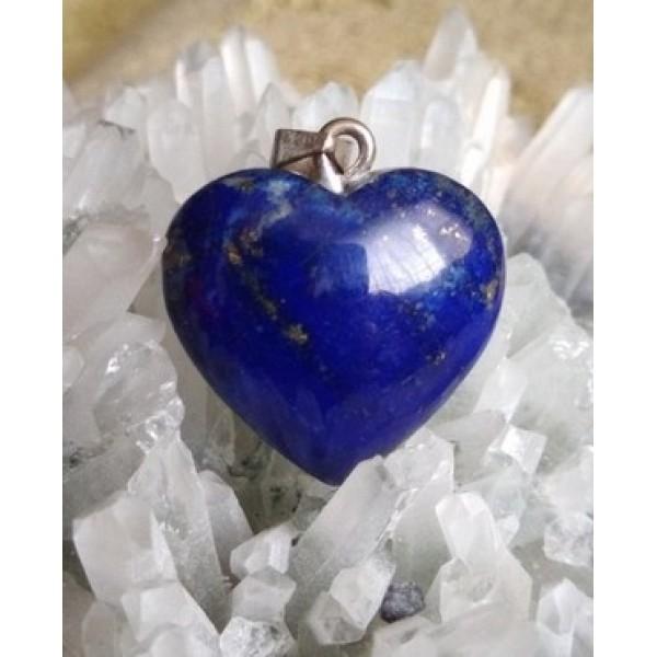 Lapis Lazuli Heart Pendant 18