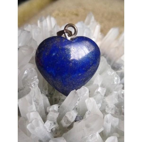 Lapis Lazuli Heart Pendant 20