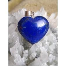 Lapis Lazuli Heart Pendant 22