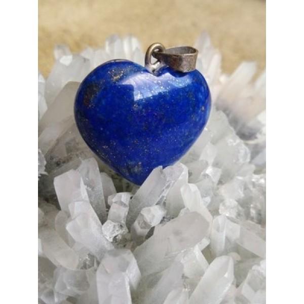 Lapis Lazuli Heart Pendant 24