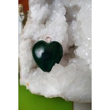 Malachite Heart Pendant 30