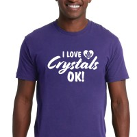 I Love Crystals Ok! - UNISEX Crew Neck