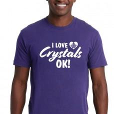 I Love Crystals Ok! - UNISEX Crew Neck