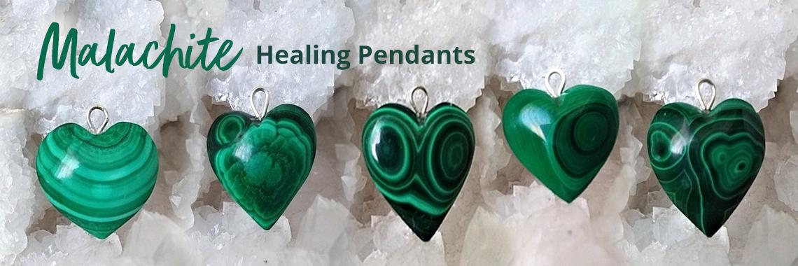 Malachite Healing Pendants