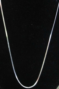 Sterling Silver Serpentine Chain